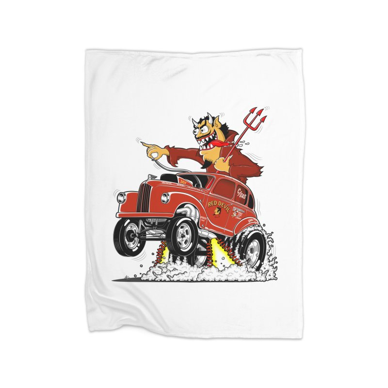 1948 Austin Gasser #1 Home Fleece Blanket Blanket by screamnjimmy's Artist Shop