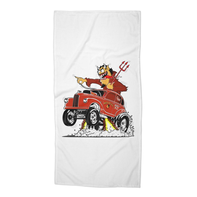 1948 Austin Gasser #1 Accessories Beach Towel by screamnjimmy's Artist Shop
