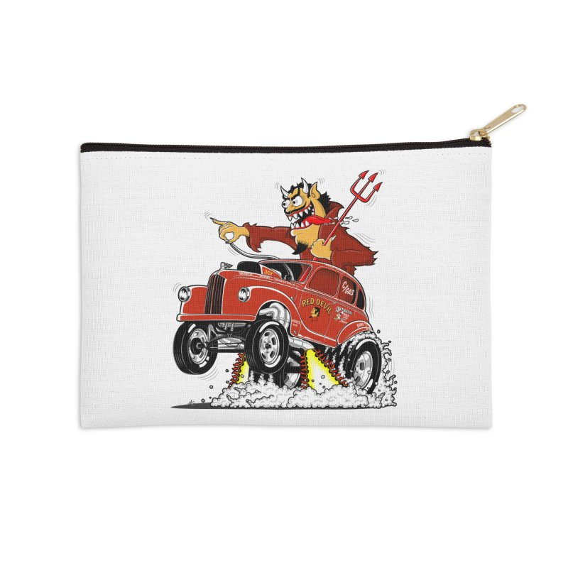 1948 Austin Gasser #1 Accessories Zip Pouch by screamnjimmy's Artist Shop