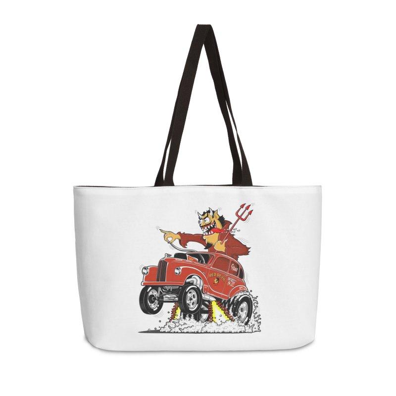 1948 Austin Gasser #1 Accessories Bag by screamnjimmy's Artist Shop