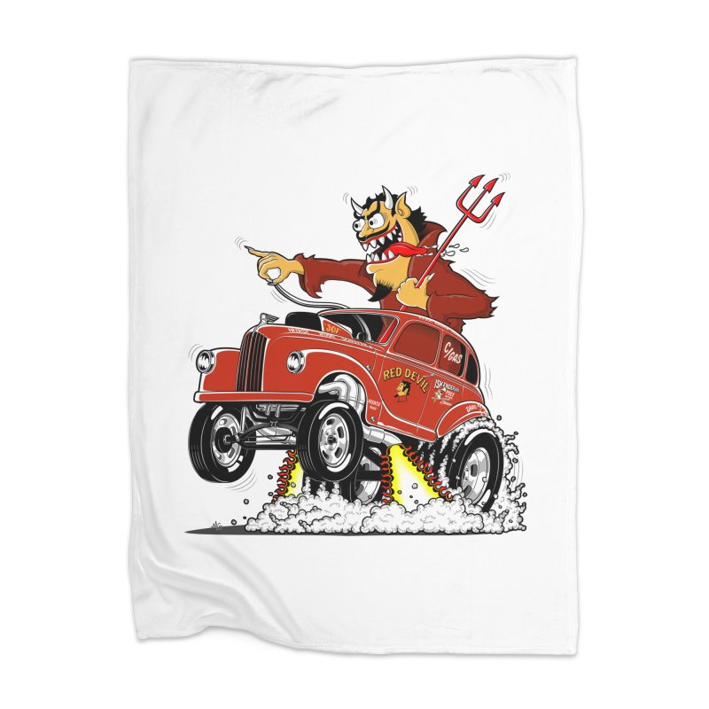 1948 Austin Gasser #1 Home Blanket by screamnjimmy's Artist Shop