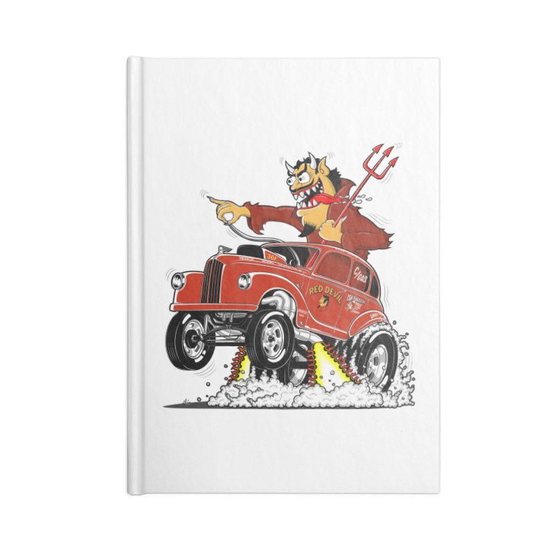 1948 Austin Gasser #1 Accessories Lined Journal Notebook by screamnjimmy's Artist Shop
