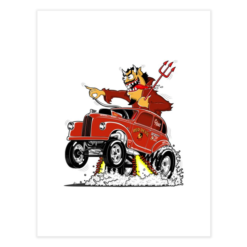 1948 Austin Gasser #1 Home Fine Art Print by screamnjimmy's Artist Shop
