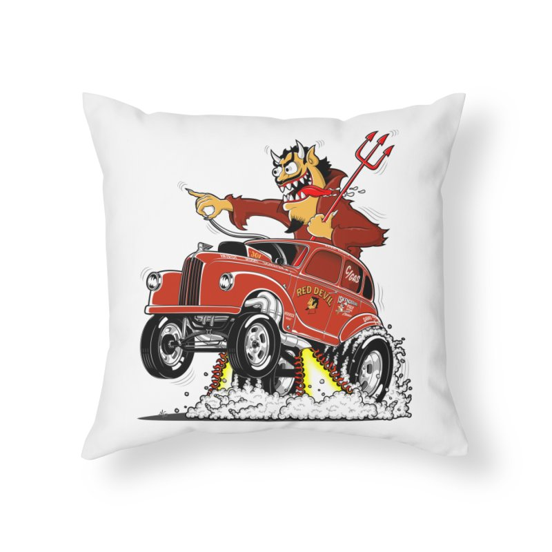 1948 Austin Gasser #1 Home Throw Pillow by screamnjimmy's Artist Shop