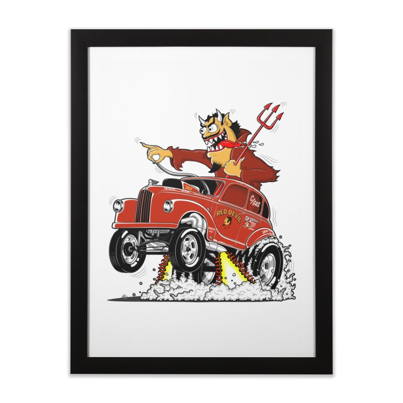 1948 Austin Gasser #1 Home Framed Fine Art Print by screamnjimmy's Artist Shop