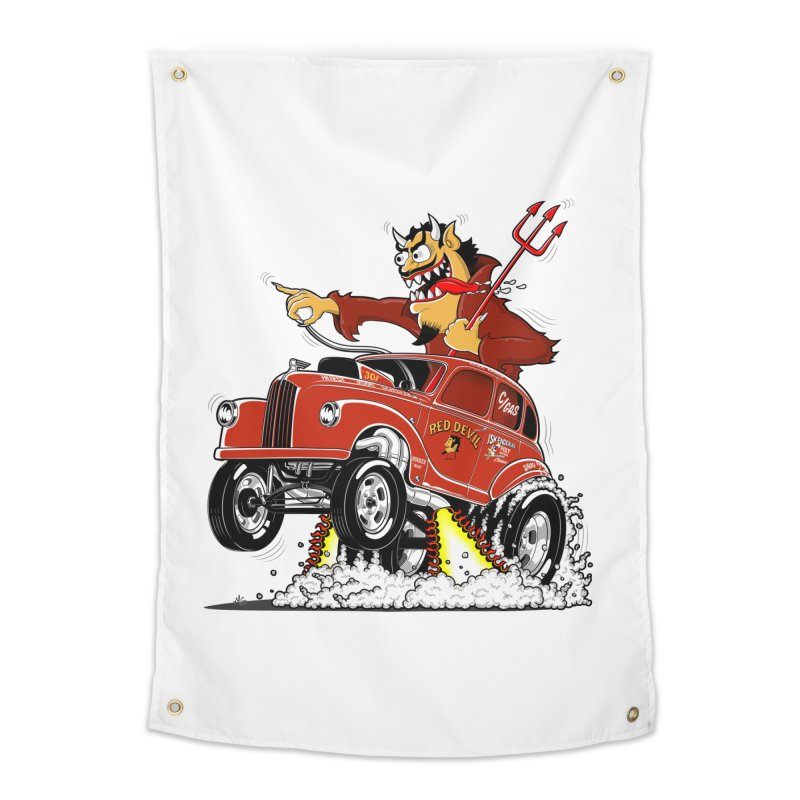 1948 Austin Gasser #1 Home Tapestry by screamnjimmy's Artist Shop