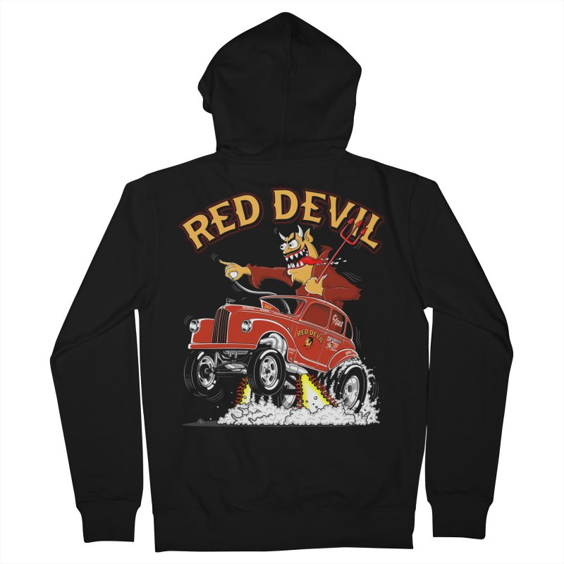 1948 Austin Gasser #2 Women's Zip-Up Hoody by screamnjimmy's Artist Shop