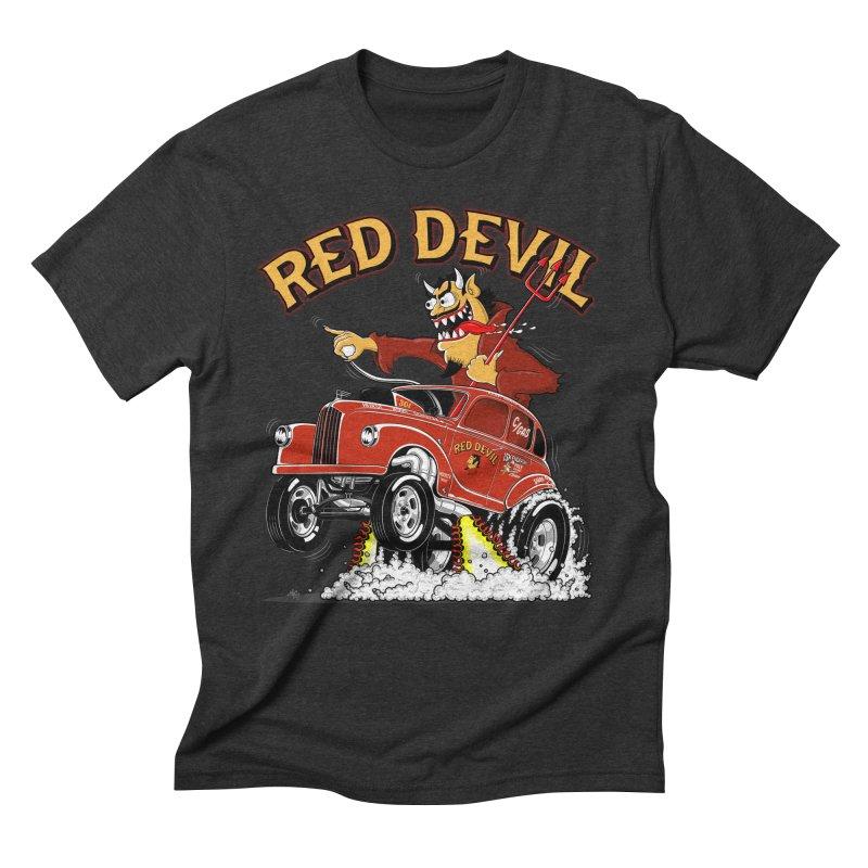 1948 Austin Gasser #2 Men's Triblend T-Shirt by screamnjimmy's Artist Shop