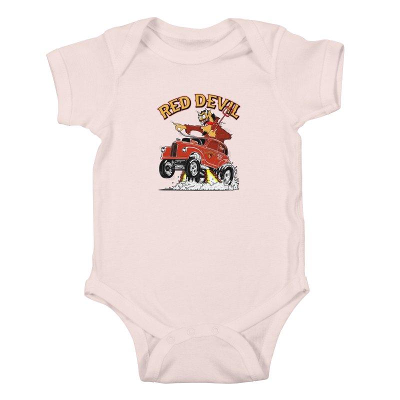 1948 Austin Gasser #2 Kids Baby Bodysuit by screamnjimmy's Artist Shop