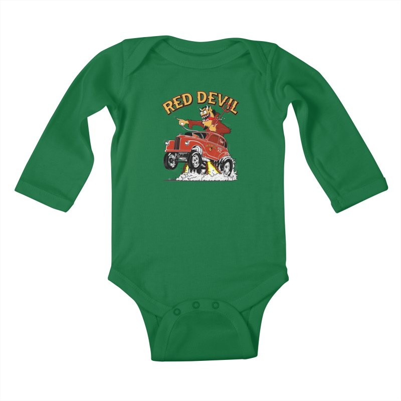 1948 Austin Gasser #2 Kids Baby Longsleeve Bodysuit by screamnjimmy's Artist Shop
