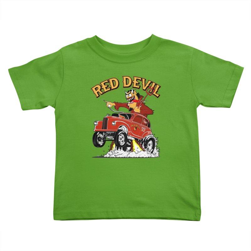 1948 Austin Gasser #2 Kids Toddler T-Shirt by screamnjimmy's Artist Shop