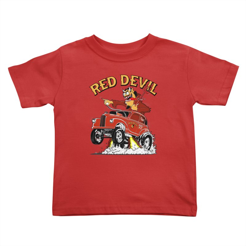 1948 Austin Gasser #2 Kids Toddler T-Shirt by screamnjimmy's Artist Shop