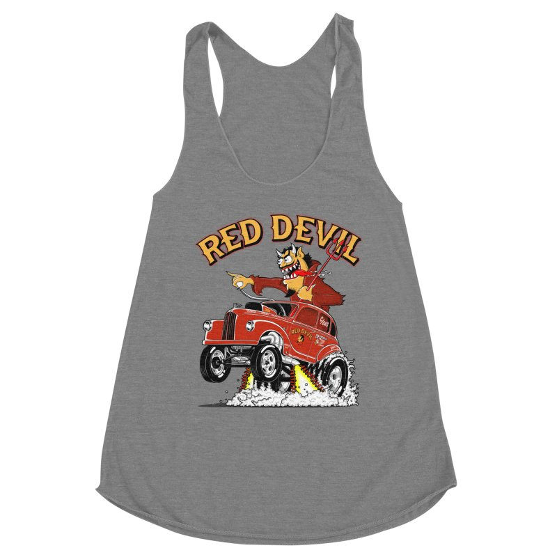 1948 Austin Gasser #2 Women's Racerback Triblend Tank by screamnjimmy's Artist Shop
