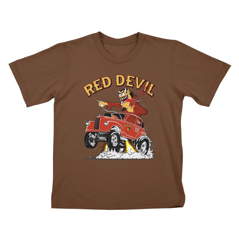 1948 Austin Gasser #2 Kids T-shirt by screamnjimmy's Artist Shop