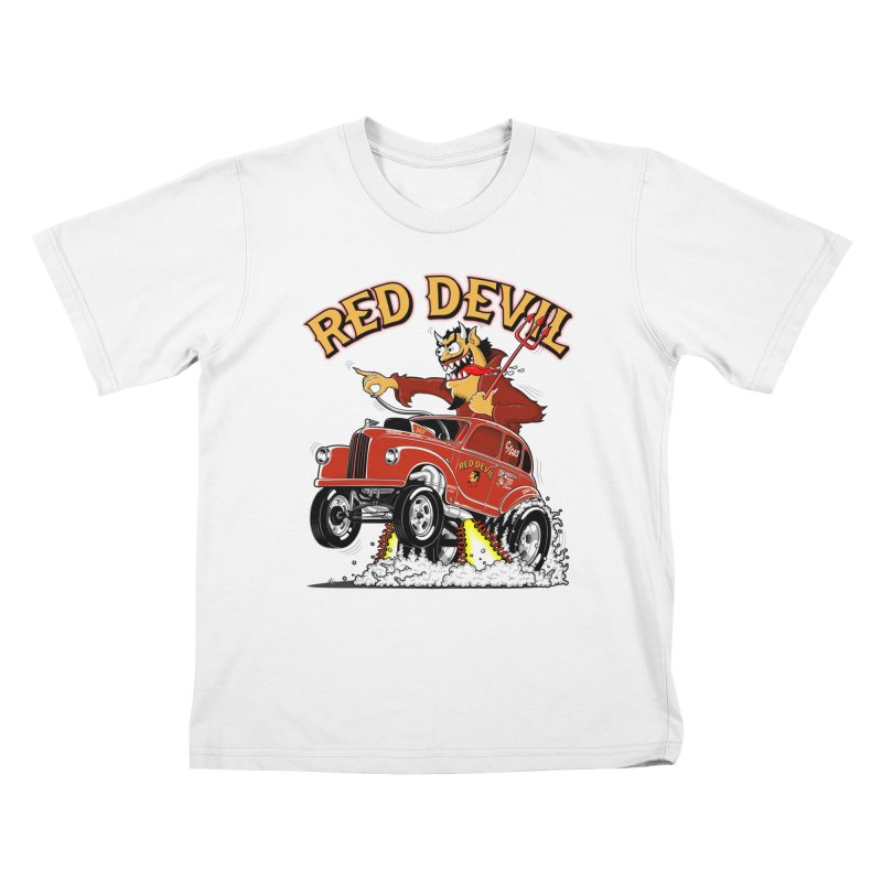 1948 Austin Gasser #2 Kids T-Shirt by screamnjimmy's Artist Shop