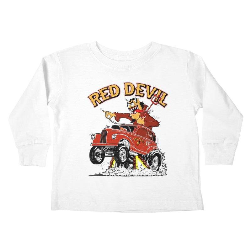 1948 Austin Gasser #2 Kids Toddler Longsleeve T-Shirt by screamnjimmy's Artist Shop