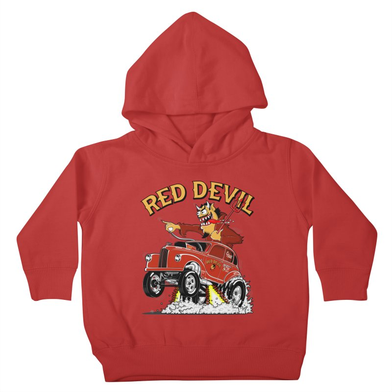 1948 Austin Gasser #2 Kids Toddler Pullover Hoody by screamnjimmy's Artist Shop