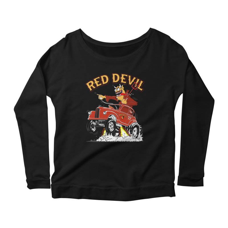 1948 Austin Gasser #2 Women's Longsleeve Scoopneck  by screamnjimmy's Artist Shop