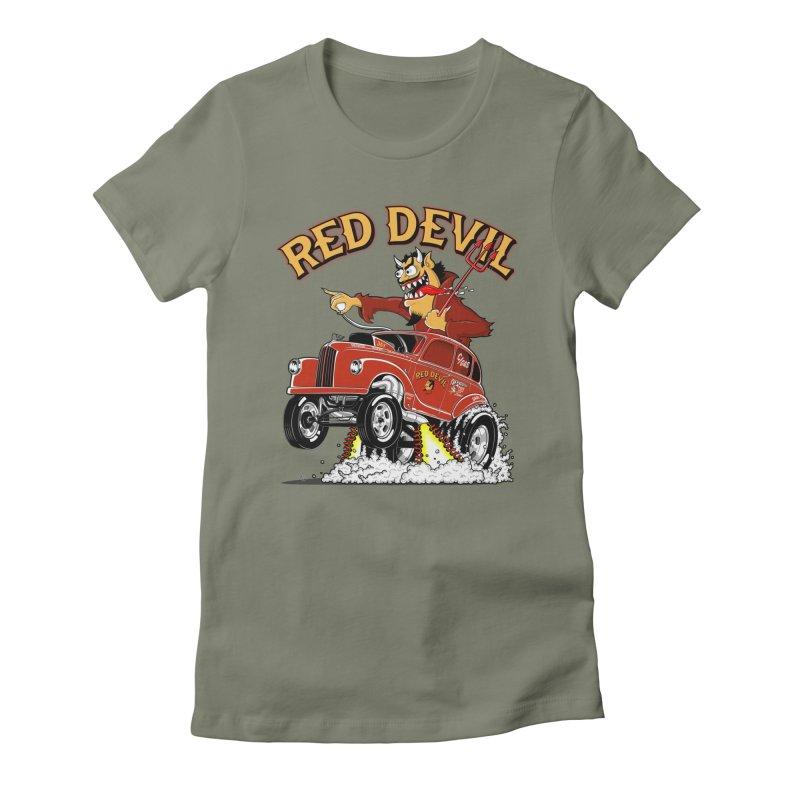 1948 Austin Gasser #2 Women's Fitted T-Shirt by screamnjimmy's Artist Shop