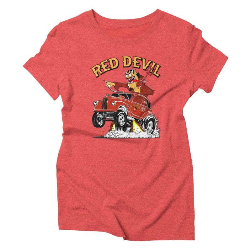 1948 Austin Gasser #2 Women's Triblend T-shirt by screamnjimmy's Artist Shop
