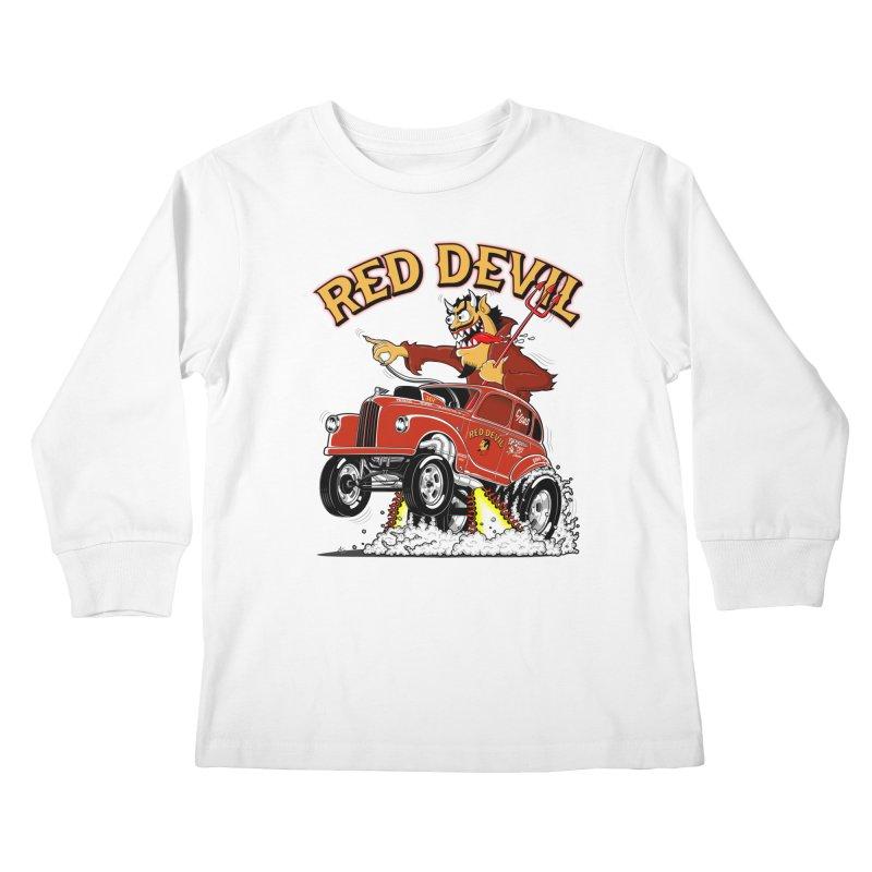 1948 Austin Gasser #2 Kids Longsleeve T-Shirt by screamnjimmy's Artist Shop