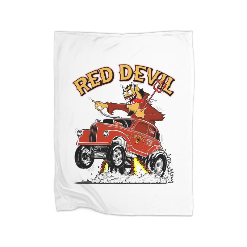 1948 Austin Gasser #2 Home Blanket by screamnjimmy's Artist Shop