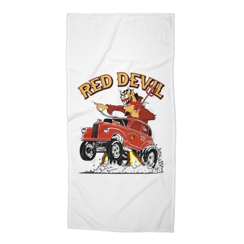 1948 Austin Gasser #2 Accessories Beach Towel by screamnjimmy's Artist Shop