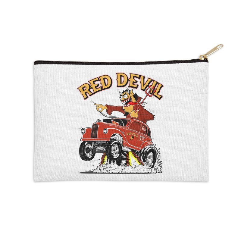 1948 Austin Gasser #2 Accessories Zip Pouch by screamnjimmy's Artist Shop