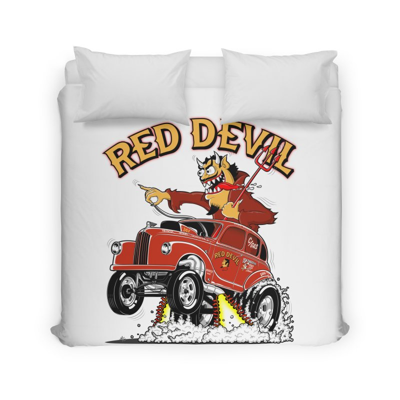 1948 Austin Gasser #2 Home Duvet by screamnjimmy's Artist Shop