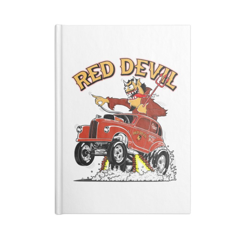 1948 Austin Gasser #2 Accessories Lined Journal Notebook by screamnjimmy's Artist Shop
