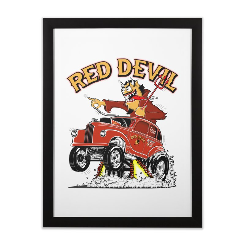 1948 Austin Gasser #2 Home Framed Fine Art Print by screamnjimmy's Artist Shop