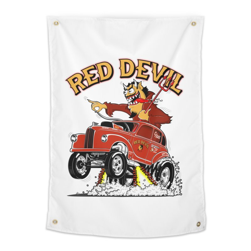 1948 Austin Gasser #2 Home Tapestry by screamnjimmy's Artist Shop