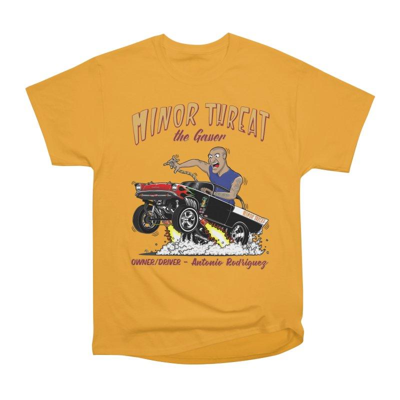 57 Gasser MINOR THREAT, rev 2.0 Women's Classic Unisex T-Shirt by screamnjimmy's Artist Shop