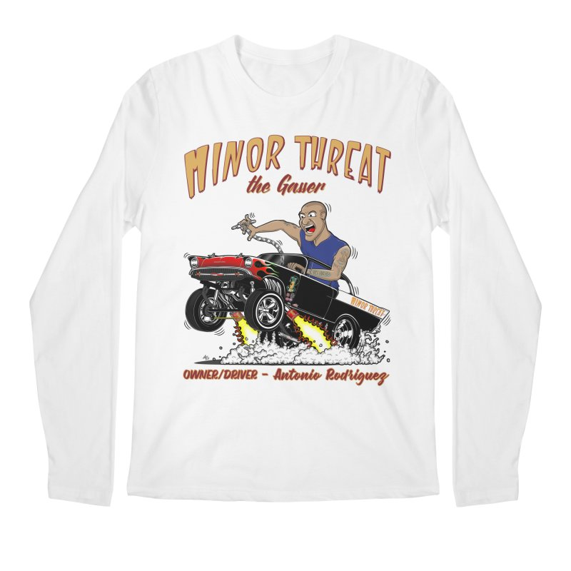 57 Gasser MINOR THREAT, rev 2.0 Men's Longsleeve T-Shirt by screamnjimmy's Artist Shop