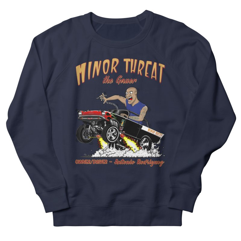 57 Gasser MINOR THREAT, rev 2.0 Women's Sweatshirt by screamnjimmy's Artist Shop