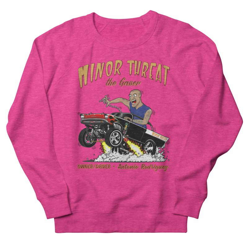 57 Gasser MINOR THREAT, rev 2.0 Men's Sweatshirt by screamnjimmy's Artist Shop
