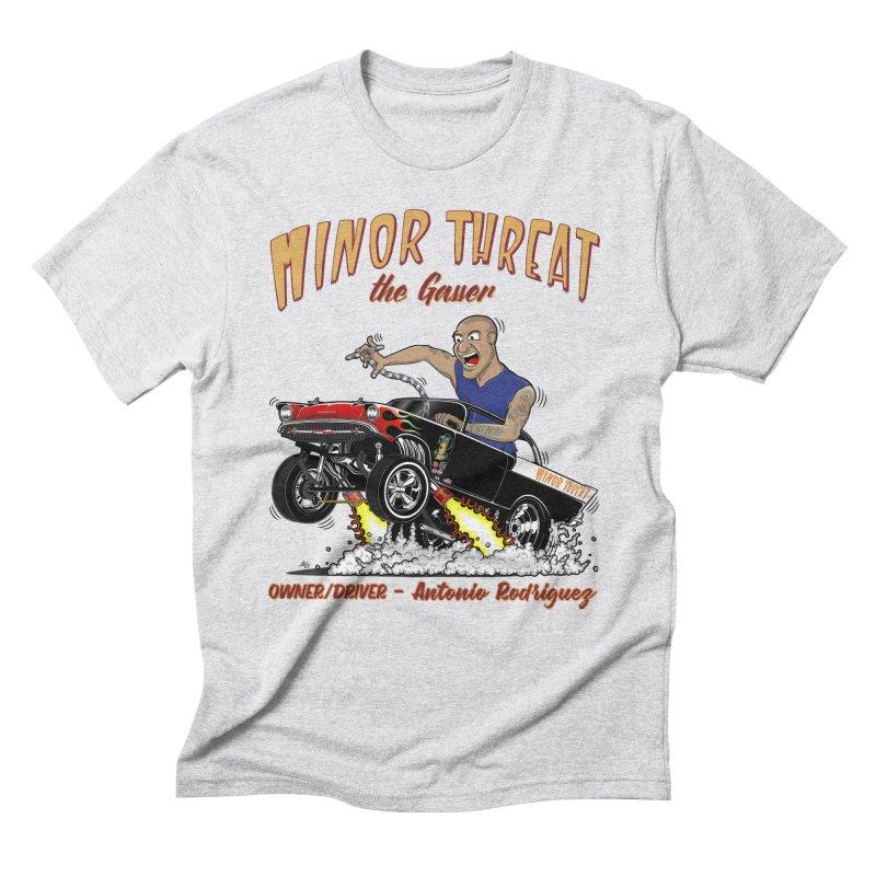 57 Gasser MINOR THREAT, rev 2.0 Men's Triblend T-Shirt by screamnjimmy's Artist Shop