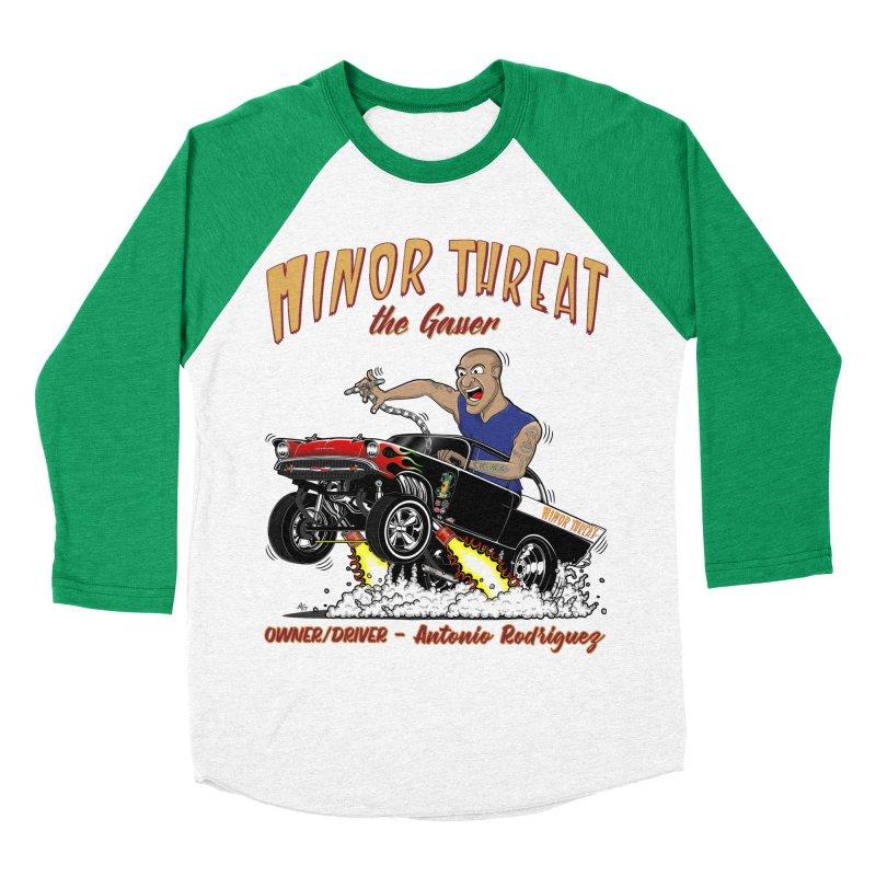 57 Gasser MINOR THREAT, rev 2.0 Women's Baseball Triblend T-Shirt by screamnjimmy's Artist Shop