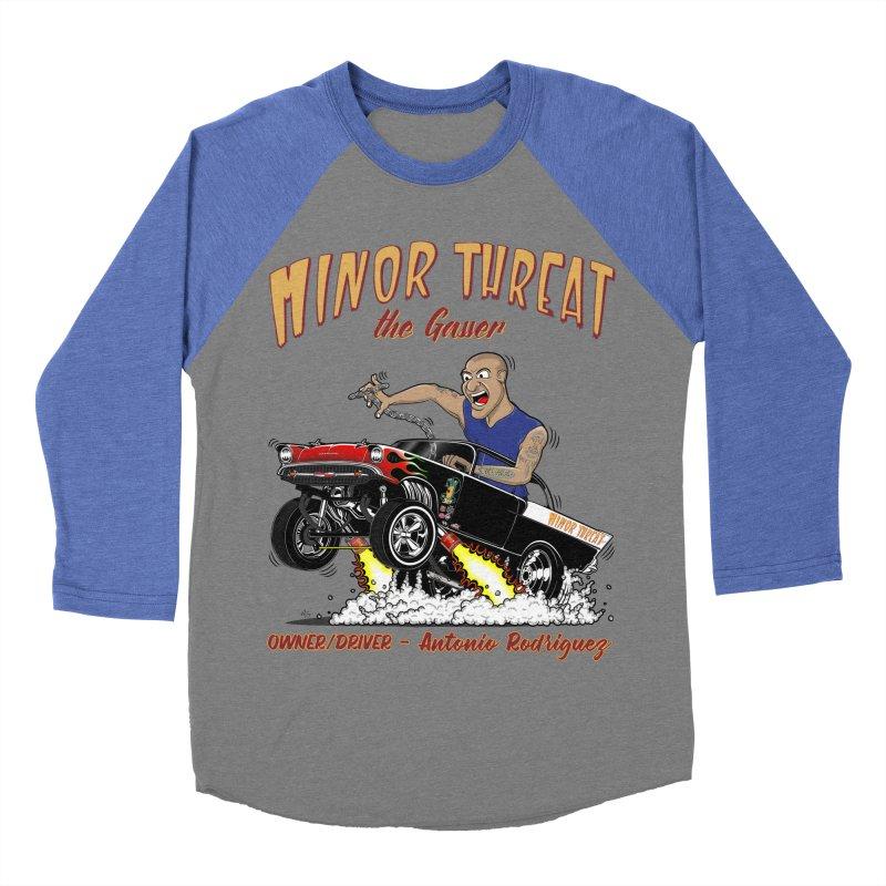 57 Gasser MINOR THREAT, rev 2.0 Men's Baseball Triblend T-Shirt by screamnjimmy's Artist Shop