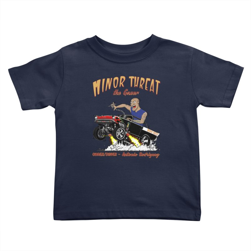 57 Gasser MINOR THREAT, rev 2.0 Kids Toddler T-Shirt by screamnjimmy's Artist Shop