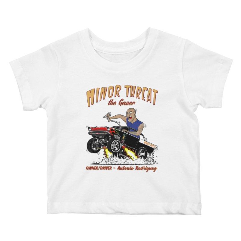 57 Gasser MINOR THREAT, rev 2.0 Kids Baby T-Shirt by screamnjimmy's Artist Shop