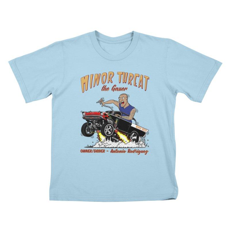 57 Gasser MINOR THREAT, rev 2.0 Kids T-shirt by screamnjimmy's Artist Shop