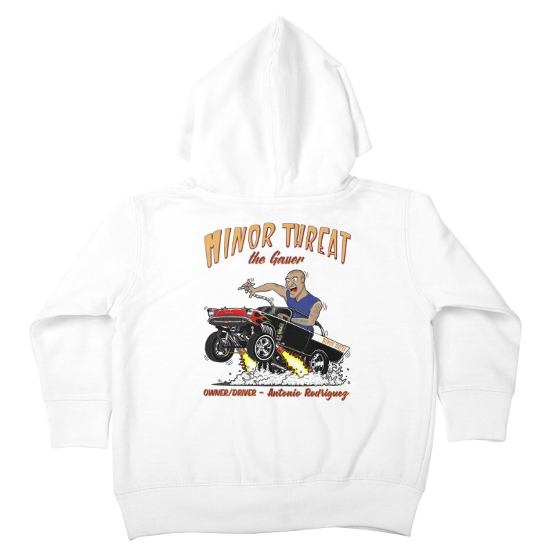 57 Gasser MINOR THREAT, rev 2.0 Kids Toddler Zip-Up Hoody by screamnjimmy's Artist Shop