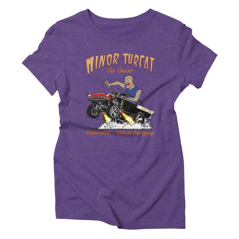 57 Gasser MINOR THREAT, rev 2.0 Women's Triblend T-Shirt by screamnjimmy's Artist Shop