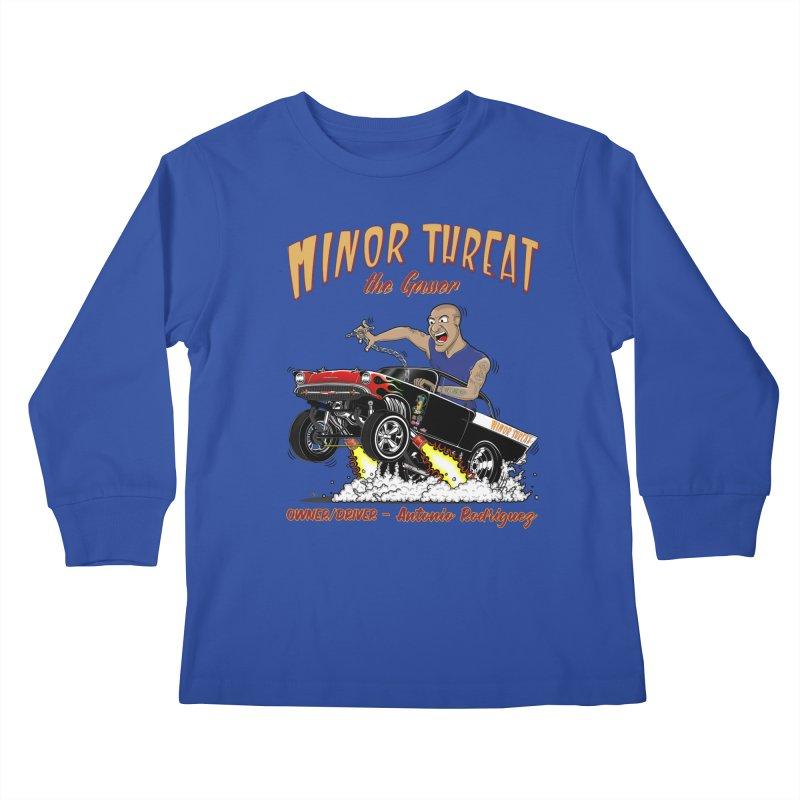57 Gasser MINOR THREAT, rev 2.0 Kids Longsleeve T-Shirt by screamnjimmy's Artist Shop