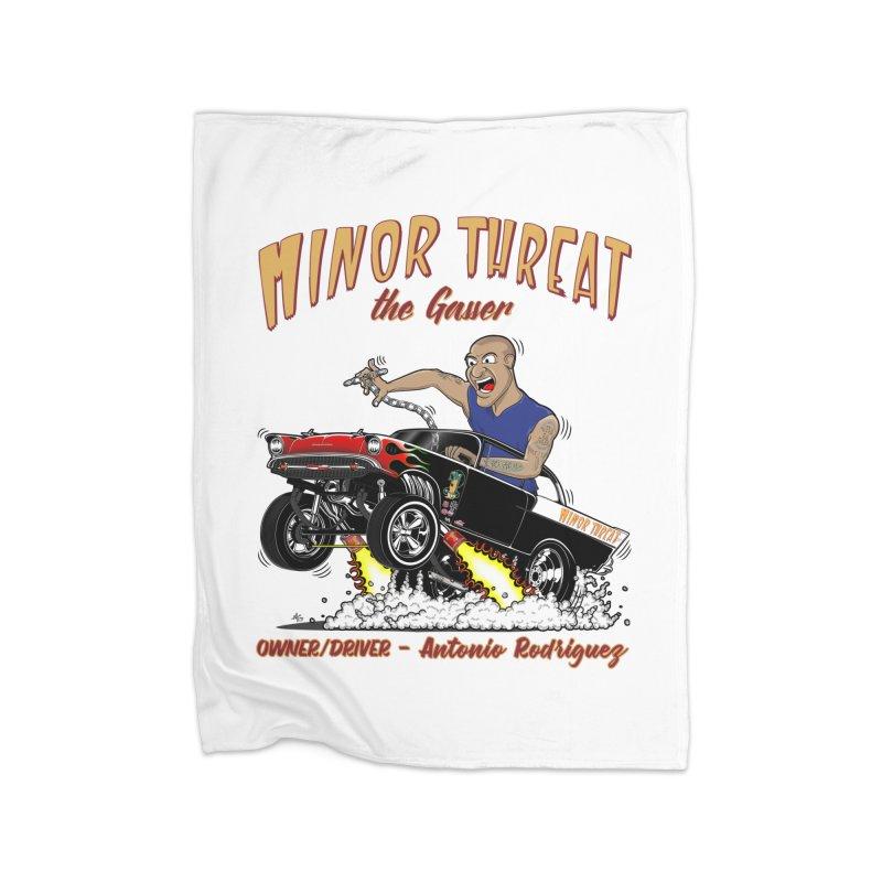 57 Gasser MINOR THREAT, rev 2.0 Home Blanket by screamnjimmy's Artist Shop