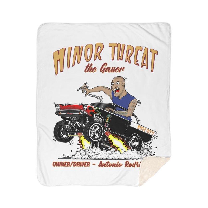 57 Gasser MINOR THREAT, rev 2.0 Home Sherpa Blanket Blanket by screamnjimmy's Artist Shop