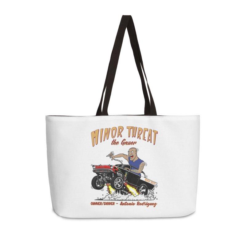 57 Gasser MINOR THREAT, rev 2.0 Accessories Bag by screamnjimmy's Artist Shop
