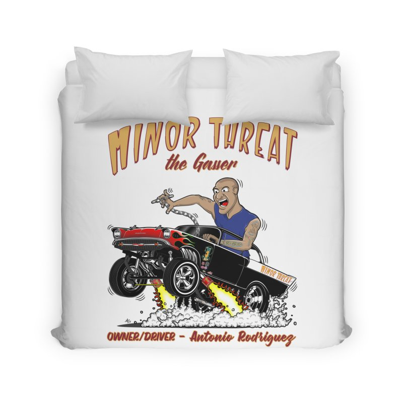 57 Gasser MINOR THREAT, rev 2.0 Home Duvet by screamnjimmy's Artist Shop