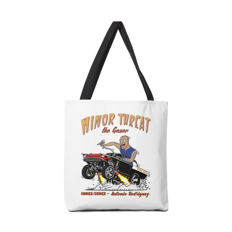 57 Gasser MINOR THREAT, rev 2.0 Accessories Tote Bag Bag by screamnjimmy's Artist Shop